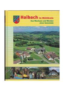 Haibach Buchtitelseite